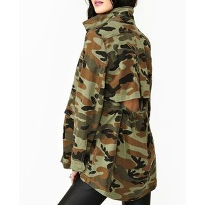 Nasty Gal Boot Camp Jacket